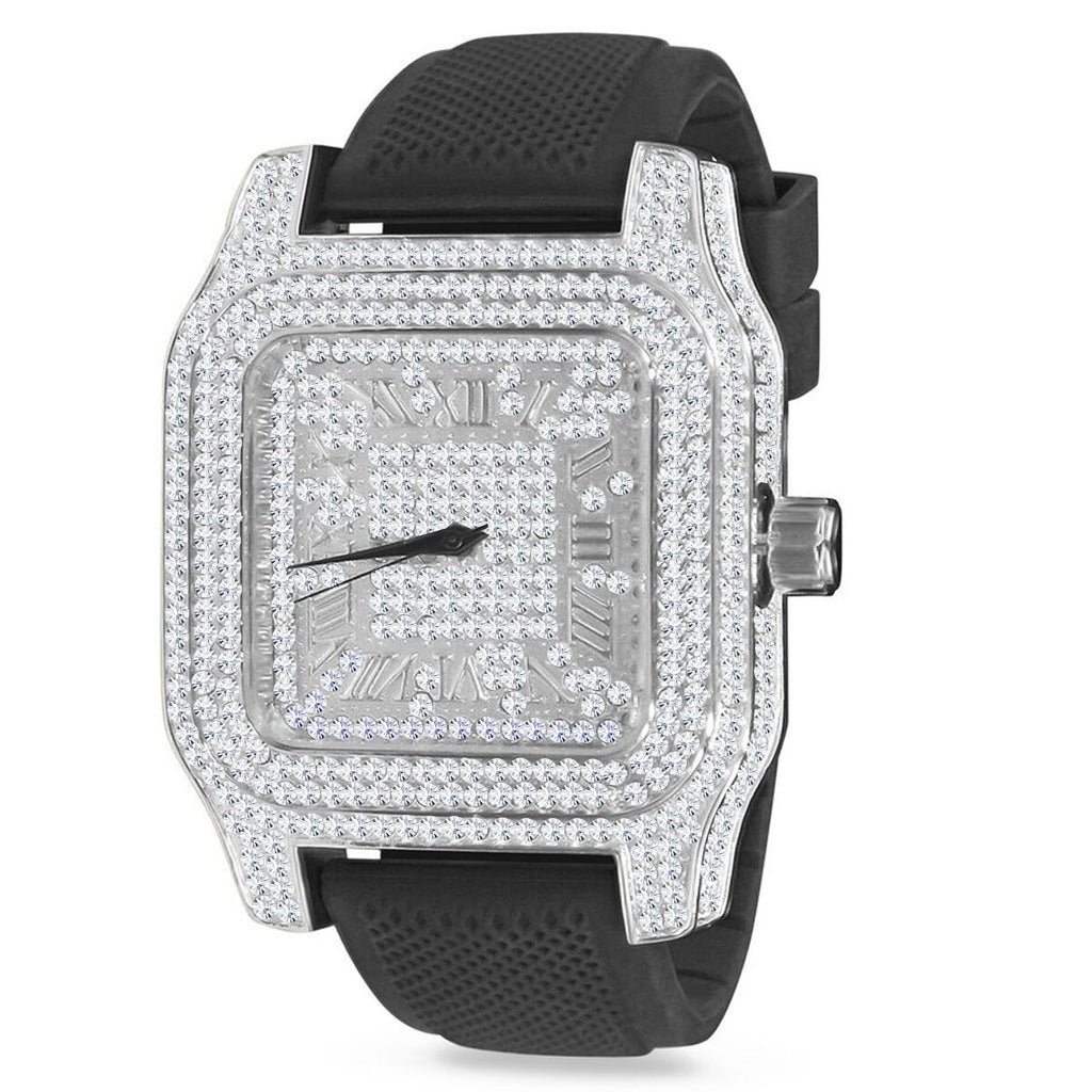Iced Out King Square XXL horloge