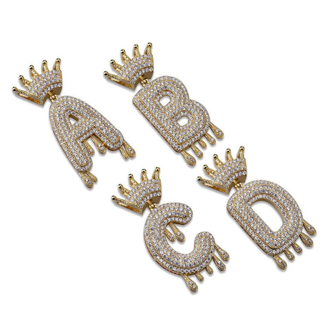 Iced Out Kroon Letter Hanger - ICED OUT