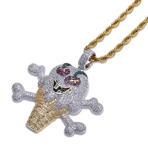 Image of Iced Out Ice Cream Hanger - ICED OUT