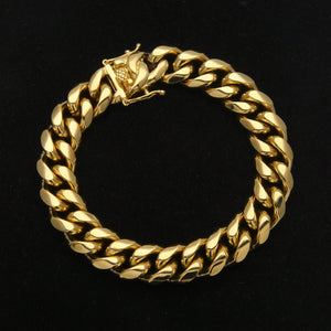 12mm Miami Cuban Armband