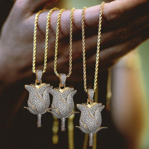 Iced Out Roos Hanger - ICED OUT