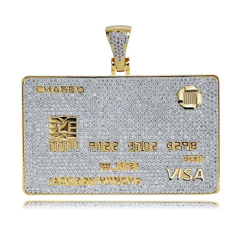 Iced Out Credit Card Hanger