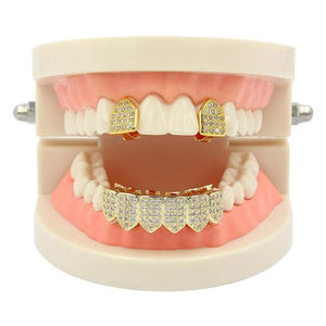 Gold plated Royal Grill Combo