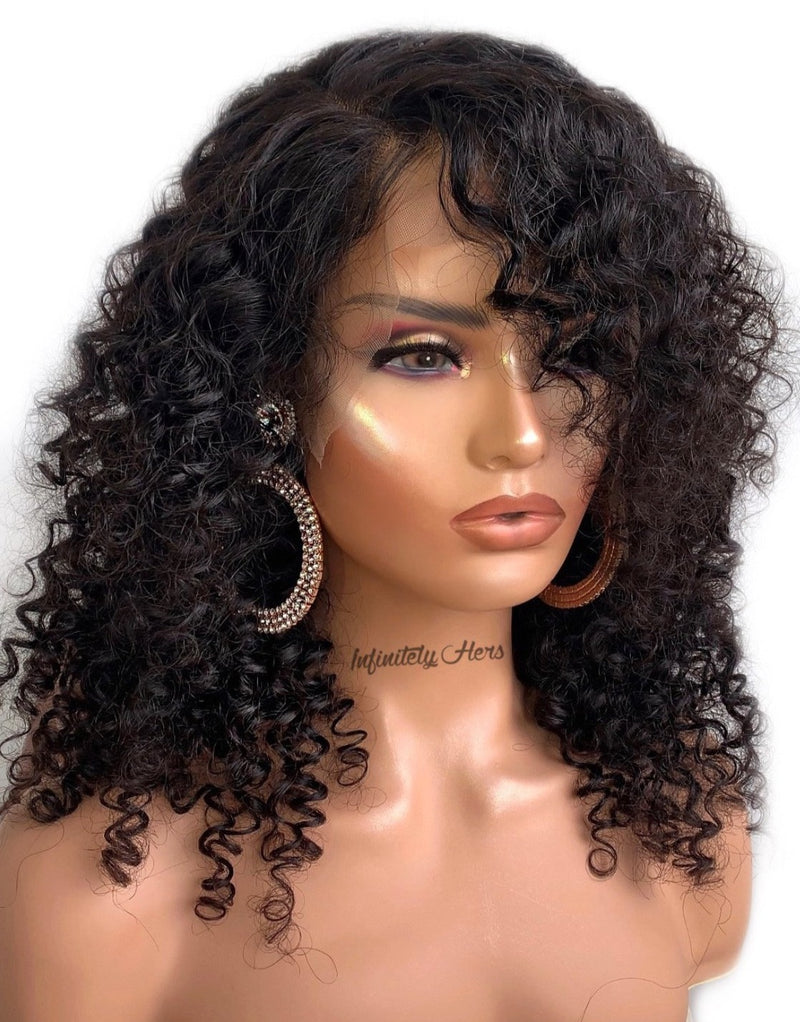 Swiss Lace Frontal Wig - 18