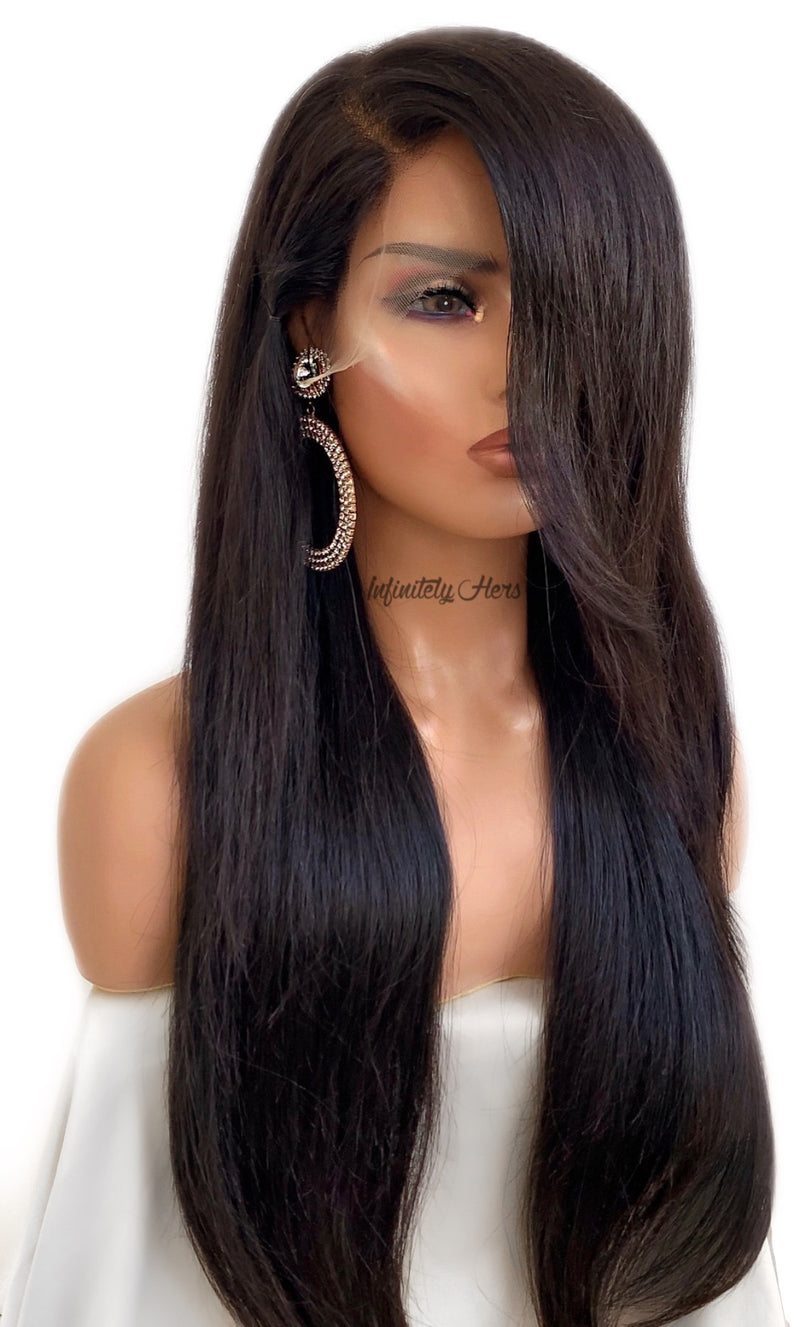 Transparent Lace Frontal Wig - 22