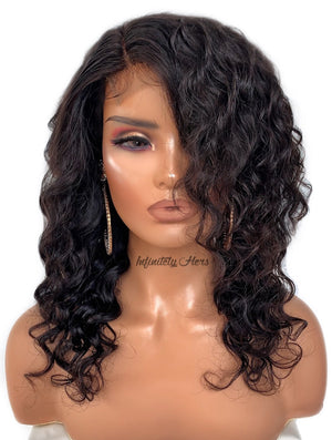 "Swiss Lace Closure Wig - 14"" Ultimate Wave (JM Stock)"