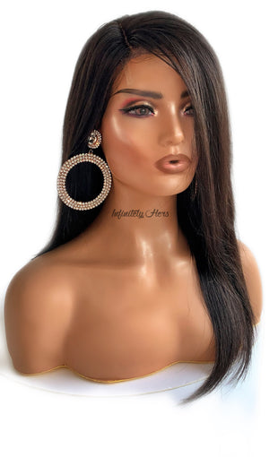 "HD Lace Closure Wig - 14"" Straight (JM Stock)"