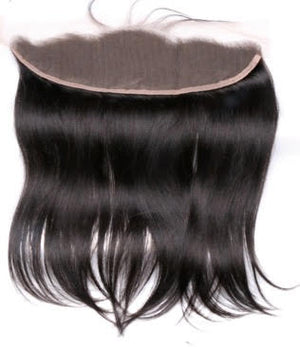 "Brazilian Straight Lace Frontal 14"" - JM Stock"