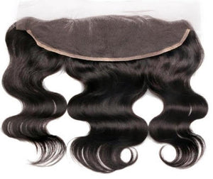 "Brazilian Body Wave Lace Frontal 14"" - JM Stock"