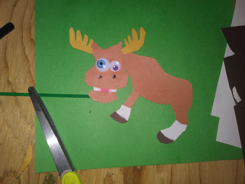 Creating the coffee moose for mooseBC