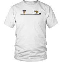 Cartoon Moose Apparel