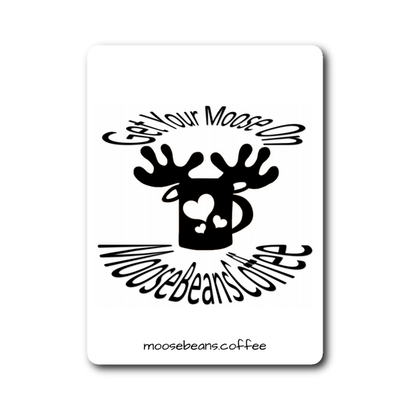 Get Your Moose On Sticker