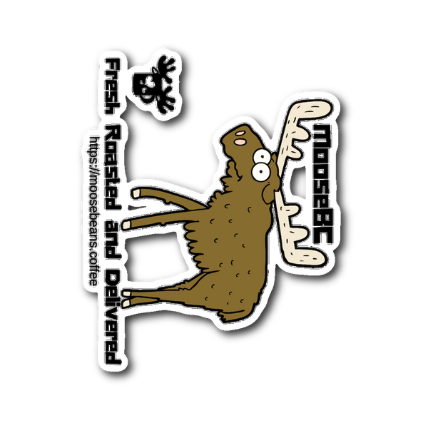 Cartoon Moose Sticker