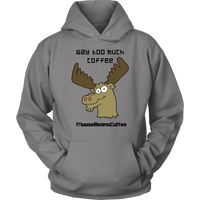 Way Too Much Coffee Apparel