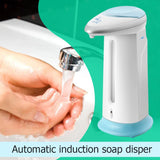 Blue Pigeon 400ml Touchless Automatic Soap Liquid Dispenser Smart Infrared Sensor Hand Washing Pump Container for Kitchen Bathroom
