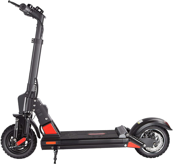 Blue Pigeon E5 Off Road Electric Scooter with Seat for Adult Speed 30mph Battery 12.5 Ah Motor 600W For Adult