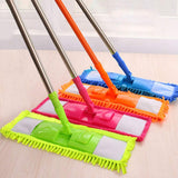 Click to open expanded view        Blue Pigeon Flat Floor Cleaning Chenille Mop Mop Cleaner Sweeper Wooden Laminate Tile Floor Wet Dry