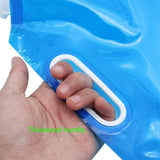 5Liter Portable Folding Storage Lifting Water Bag for Camping Hiking Survival Hydration (COLOR AS PER AVAILABILITY)