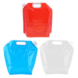 5Liter Portable Folding Storage Lifting Water Bag for Camping Hiking Survival Hydration Pack of 3 (COLOR AS PER AVAILABILITY)