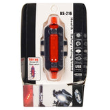 Bike Tail Light, Ultra Bright and USB Rechargeable, Bicycle Flashing Rear taillight for120 Lumen, LED Safety Warning Strobe Head Light, Also for Helmet and Backpack