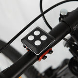 Bike Indicator Rear USB Bike Light - Bike Laser Light with Turning Signal With Remote Control