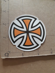 Independent Truck Co Cross Vinyl Sticker