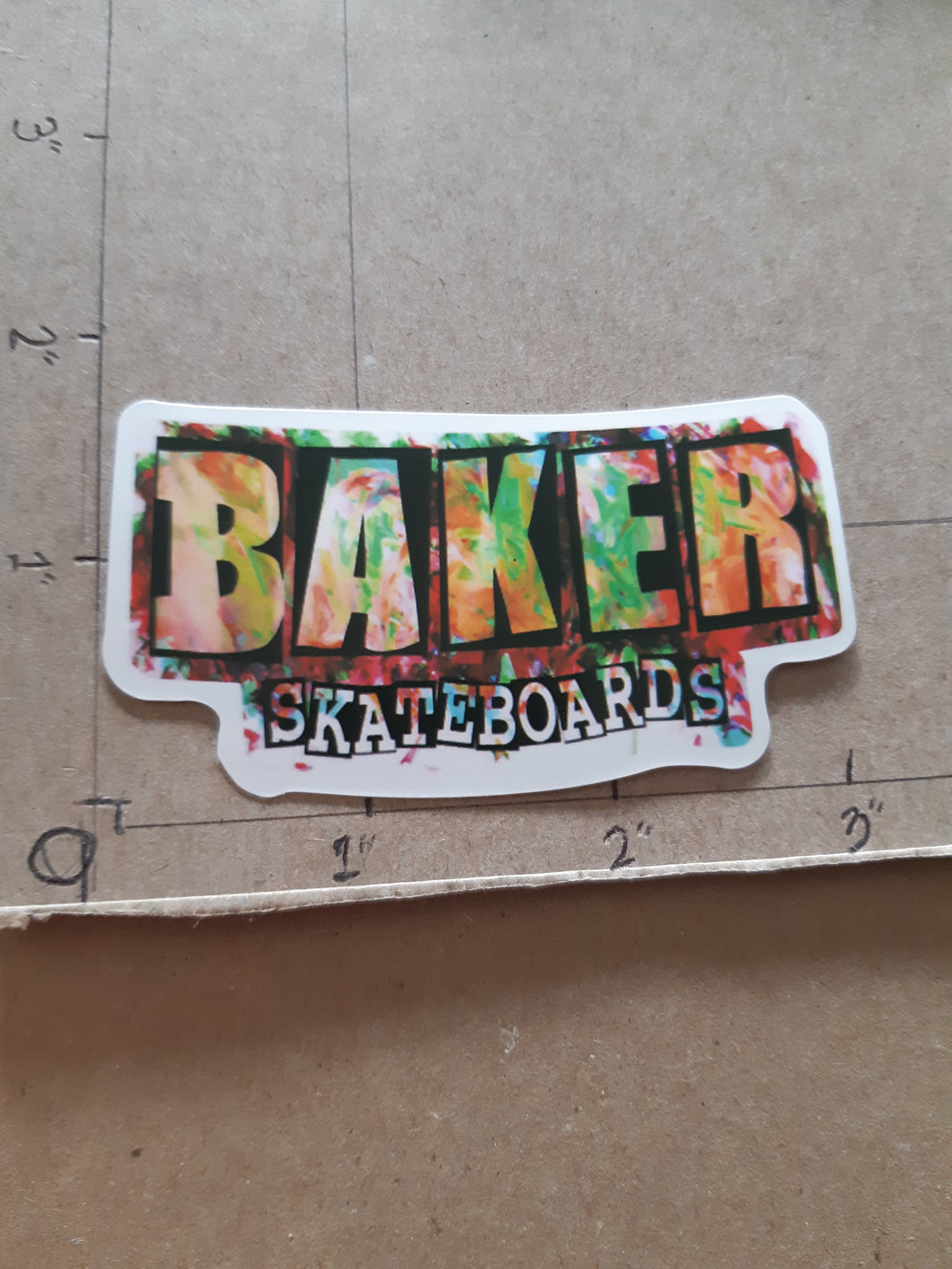 Baker Skateboards Vinyl Sticker