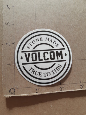 Volcom Stone Made True To This Vinyl Sticker