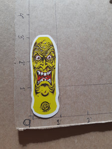 Santa Cruz Skateboards Rob Roskopp Designs Vinyl Sticker