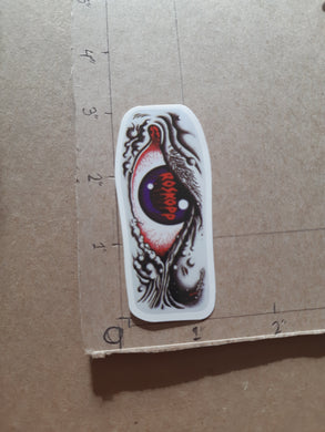 Santa Cruz Skateboards Rob Roskopp Eyeball Vinyl Sticker
