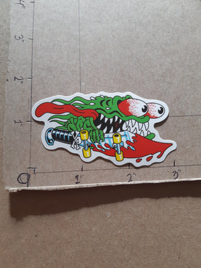 Santa Cruz Skateboards Slasher Vinyl Sticker