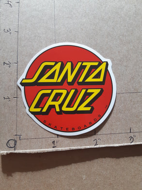 Santa Cruz Skateboards Vinyl Sticker