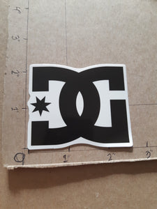 DC Shoes Co Vinyl Sticker