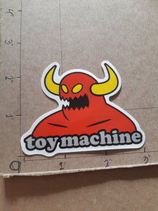 Toy Machine Skateboards Devil Vinyl Sticker