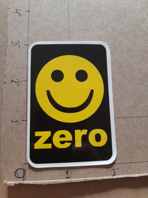 Zero Skateboards Smiley Face Vinyl Sticker
