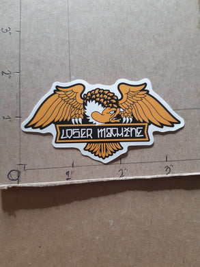 Loser Machine Alleyway Vinyl Sticker