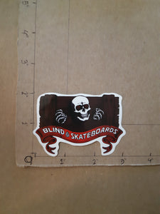 Powell-Peralta x Blind Skateboards Vinyl Sticker.