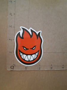 Spitfire Wheels Bighead Vinyl Sticker.