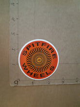 Load image into Gallery viewer, Spitfire Wheels Swirl Vinyl Sticker.