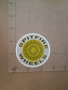 Spitfire Wheels Swirl Vinyl Sticker.