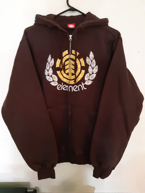 Element Skateboards - Hooded Zip-Up.