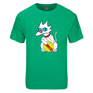 Bad Luck Cat - Short Sleeve T-Shirt.