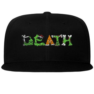 "Ubale Skateboard Co ""Death Creatures"" Flexfit Flat Bill Cap - S/M & L/XL"