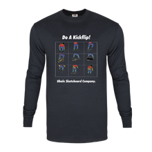 Load image into Gallery viewer, Do A Kickflip! - Long Sleeve T-Shirt.
