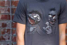 Load image into Gallery viewer, Sesame Street - Zombie Bert And Ernie - T-Shirt.