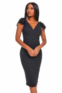 Cap Sleeve Contour Dress
