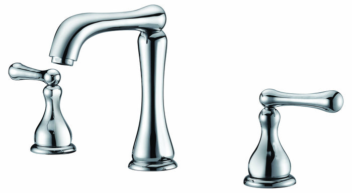 "Two handle 8"" windspread lavatory faucet"