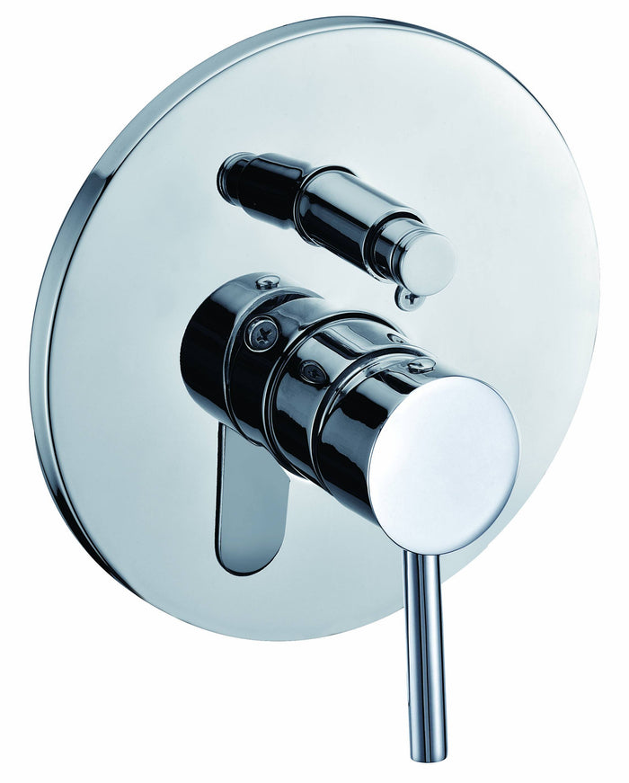 Pressure balanced tub and shower valve