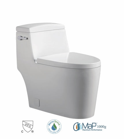 Dual Flush One-piece Toilet SK118