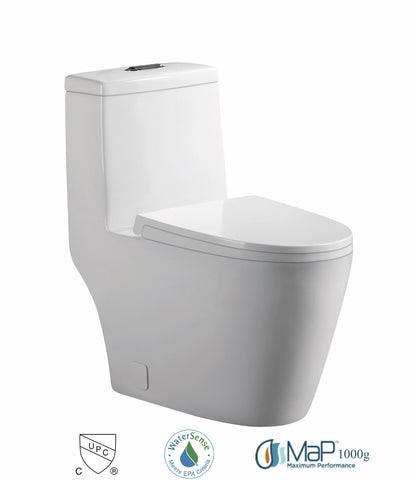 Dual Flush One-piece Toilet SK136